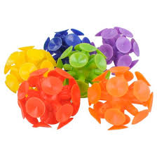 ball in a cup. 6ct suction cup ball - spritz™ in a l