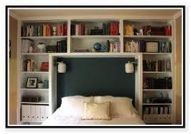 King size bookshelf headboard