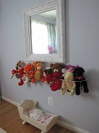 Stuffed Animal Display Stand creative ways to store stuffed animals Design Decoration 13