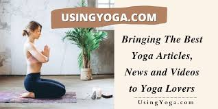 using yoga for a healthy lifestyle