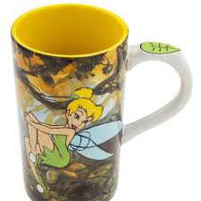 $19.99 disney coffee cup mug w/lid christmas mickey's very merry christmas party mouse. Believe In Fairies Tinker Bell Tall Disney Coffee Mug From Our Mugs Cups Collection Disney Collectibles And Memorabilia Fantasies Come True