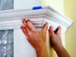 how to cut crown molding outside corners for cabinets 1420860813003