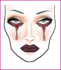 Mac Cosmetics Halloween Face Charts And Halloween Makeup
