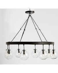 amazing deal on barrett glass globe chandelier regarding plan 18