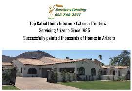 north phoenix az exterior house painting company butcher s painting