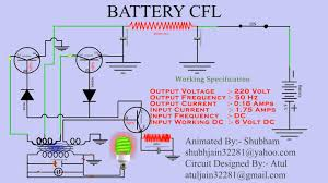 cfl circuits diagram wiring diagram image LED and CFL Light Bulbs Diagram animated cfl circuit in english language