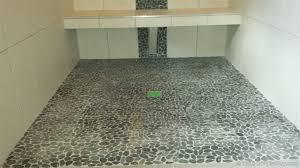 miserable pebble tile flooring diytileguy regarding floor inspirations 0