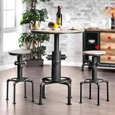 modern pub table. Carbon Loft Horstmann Protector Hydrant Inspired Metal Bar Height Round Table Modern Pub