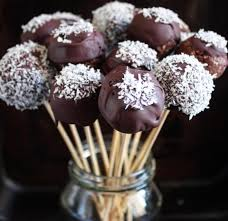 Raw Chocolate Protein Cake Pops