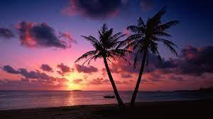 Beach Wallpaper, Ocean Sunset Wallpaper ...