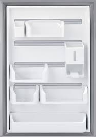 frigidaire gallery series fghi2164qf custom flex door bins