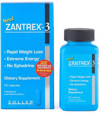 zantrex 3 rapid weight loss tary supplement 60 ct
