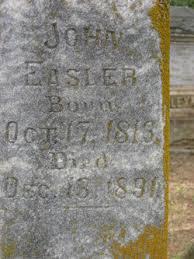 John Adam Easler (1816-1891) - Find A Grave Memorial