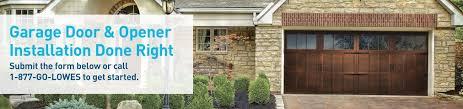 installing a garage door openerGarage Door  Garage Door Opener Installation  Lowes