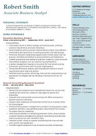 it business analyst resume samples associate business analyst resume samples qwikresume