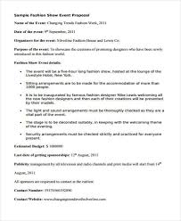Events Proposal Sample Amazing 48 Event Proposals In PDF Sample Templates