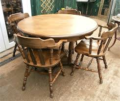 stunning design captains chairs dining room captain dg type table leather sets with upholstered oak for