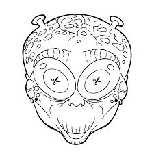 Masker Halloween Kleurplaat Krijg Duizenden Kleurenfotos Van De Beste