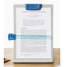 a4 clip typing paper holder doent adjule copy paper reading stand new 8803035006045