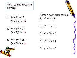 22 practice and problem solving