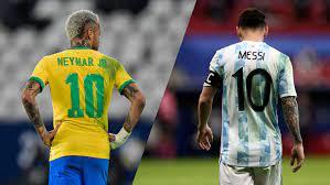 رابط مشاهدة مباراة البرازيل والأرجنتين بث مباشر الأسطورة نهائي كوبا أمريكا  الاسطورة 2021 brazil vs argentina