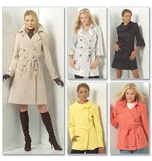 Trench Coat Pattern Amazing Communing With Fabric McCalls 48 Trench Coat