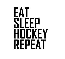 <b>Eat Sleep Hockey</b> Pillows & Cushions | Redbubble