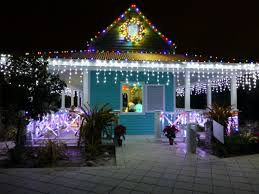 Botanical Gardens Nights Of Lights The Chattel House In The Kapnick Caribbean Garden At Naples