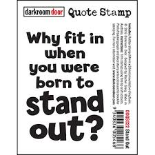 Darkroom Door Quote Stamps Stand Out Craft Queen Enchanting Stand Out Quotes