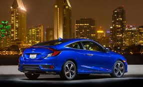 honda civic 2016 coupe. fewer doors more dollars 2016 honda civic coupe starts 410 higher than the sedan o