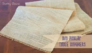 free tutorial rustic table runners for wedding or home decor no sewing involved free tutorial