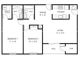 Small 2 Bedroom House Floor Plans Small 2 Bedroom House Plans 1000 Sq Ft Small 2 Bedroom Floor Plans