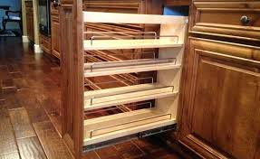 slide out cabinet shelves pull out organizers slide out cabinet shelves diy