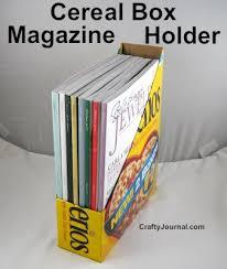 Magazine Holder From Cereal Box Cerealboxmagazineholder100wjpg 17