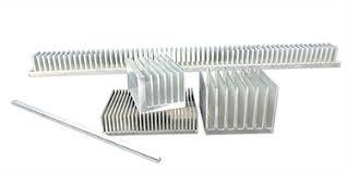 Extruded <b>Aluminum Heat Sinks</b> | Cut to Length, Raw Bar, Custom ...