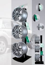 Alloy Wheel Display Stand BTL Europe Marketing Services 88