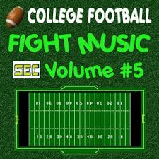 Cd Song List College Football Fight Music Cd Songlist Volume 5 Sec