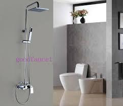 hand held shower for bathtub faucet. modern rain shower faucet set 8\ hand held for bathtub u