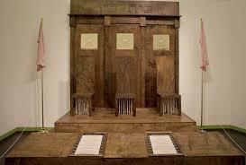helene aylon all rise an installation of a beit din as a house of three women 2007