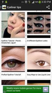 eyeliner makeup tips eyeliner makeup tips 1 0 android free mobogenie