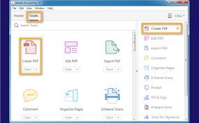Create A Pdf File From Word Excel Or A Website In Adobe Acrobat