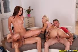Two couples fucking together