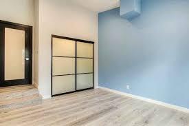 closet door repair los angeles room dividers closet doors 2 panels with laminated glass and black closet door repair