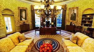 oval office photos. [HOT News] President Trump Has Already Redecorated The Oval Office - YouTube Photos