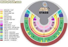 Circus De Soleil Seating Chart Royal Albert Hall Detailed Seat Numbers Seating Plan