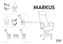 wooden futon assembly directions ikea chairs markus swivel chair embly instruction
