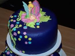 Tinkerbell Theme Designer Birthday Cakes And Cupcakes Mumbai