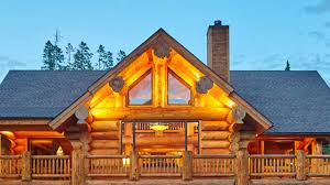 Luxury Log Homes Interior Design YouTube - Log home pictures interior