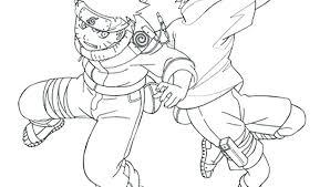 naruto vs sasuke coloring pages spirit of printable cartoons shippuden