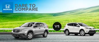 2014 Honda CR-V VS. 2014 Toyota RAV4 | Lee's Summit Honda | Kansas ...